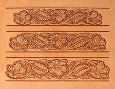 Free Belt Tooling Patterns | ... Pattern, Leathercraft Pattern, Leatherwork Supplies, Craftaid Pattern