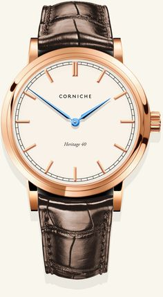 I absolutely love the Corniche Heritage 40. If only it had an automatic movement, it would be a must-own.