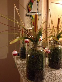 Fisherman Party Centerpiece