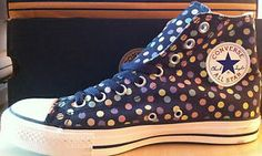 Converse INTROVABILI Charcoal Pois 1Z275 Numeri 41 42   eBay