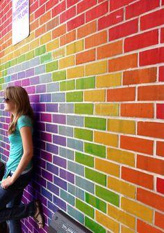 Rainbow Wall!