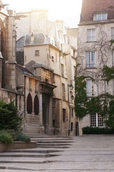 Dawn, Rue des Barres, Le Marais, Paris Street Photo, French Architecture Fine Art Photograph, Urban Wall Decor, Large Wall Art by ParisianMoments on Etsy