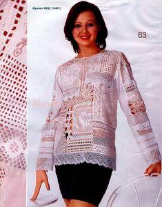Альбом «50 моделей одежды. Филейное вязание» . Обсуждение на LiveInternet - Российский Сервис Онлайн-Дневников
