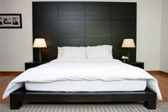 20 Stylish Cuts of Wooden Headboards | Home Design Lover
