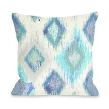 Decorative Pillows & Accent Pillows | Wayfair Oliver Gal Del Mar Pillow by One Bella Casa