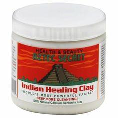 Aztec Secret Indianische Heilungs-Tonerde für das Gesicht 450 g: Amazon.de: Parfümerie & Kosmetik