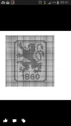 Zählmuster Bravo 3,5 ns kissen 40x40 83 Maschen breit 87 Maschen hoch