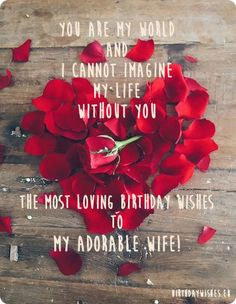 Love Birthday Quotes A Birthday Quote For My Wife  Happy Birthday Quotes Wishes Pictures