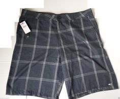 #men fashion style cloth O'Neill men shorts size 38 plaid pattern NWT (made in India) withing our EBAY store at  http://stores.ebay.com/esquirestore
