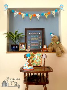 Monkey First Birthday Party - Project Nursery