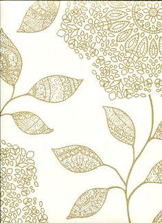 Alhambra Wallpaper Shirazi Floral 2618-21319 By Kenneth James For Portfolio