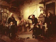 Johann Peter Hasenclever (1810-1853) Lasset die Kindlein zu mir kommen, um 1852 Öl auf Leinwand; 88x112cm Privatbesitz