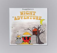 Snuggleberry's Night Adventure Storybook - Part of the Nightie Night Owl 6 Piece Crib Baby Bedding Collection. Click here to view the  collection http://snuggleberrybaby.com/bedding/nightie-night-owl-collection/. #Snuggleberrybaby #crib #bedding #baby #nursery #owl #night #nightstory #adventure #treehouse #cribbeddingset #cribbedding #book #babybook #toddlerbook #readingbook #adventurebook #nurserybook #story #canary