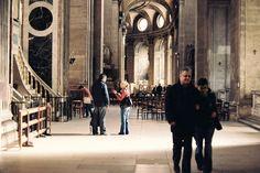 Saint-Sulpice in Paris, France