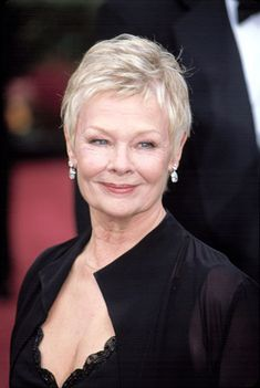 Short Hairstyles Judi Dench is listed (or ranked) 40 on the list 50 Celebrities Who Never Had Plastic Surgery.Short Hairstyles Judi Dench is listed (or ranked) 40 on the list 50 Celebrities Who Never Had Plastic Surgery Short Hair Older Women, Haircut For Older Women, Short Grey Hair, Mom Hairstyles, Short Hairstyles For Women, Celebrity Hairstyles, Sharon Stone Hairstyles, Hairstyles Videos, Everyday Hairstyles