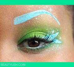 Disney's Tinkerbell Eye Makeup