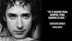 Gustavo Cerati: Las 10 mejores frases del artista argentino