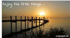 Enjoy the little things...  Beautiful Sunset
