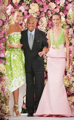 OSCAR DE LA RENTA REST IN PEACE YOU WONDERFUL MAN- I WILL ALWAYS REMEMBER MEETING YOU AND HOW NICE YOU WERE TO ME!!