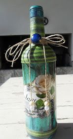 Decoupage Bottles by Carlos Rossi : Maio 2016