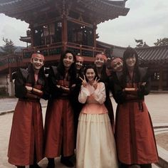 Taehyung ❤ Hwarang FAM! (ara_go_0211 IG Update) #BTS #방탄소년단
