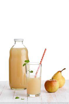 Kašasti sok od krušaka i jabuka