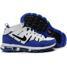 Nike Air Max 2 Trainer 94 basketball shoes in white/black-blue