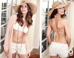 Белый вязаный купальник Monokini, Bathing Suits, Beachwear, Knitwear, Knit Crochet, Swimsuits, Knitting, Stylish, Hats