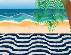Resultado de imagem para praia de copacabana ilustração