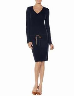 The Limited- Drawstring sweater dress