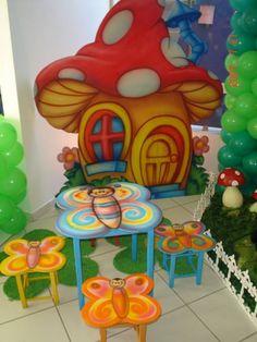 pintura mdf mesa e casinha