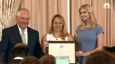 Tillerson, Ivanka Trump Honor Heroes in Fight Against Human Trafficking