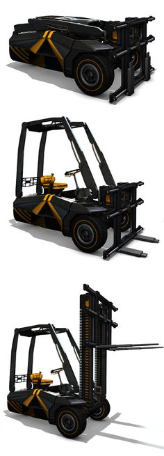 Redesign Forklift Truck For Better Lifting and Maneuverability