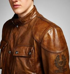 Clasic Tourist Trophy Jacket   Pure Motorcycle Collection   Belstaff