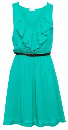 BELTED DRESS - DRESSES - WOMAN - PULL&BEAR Greece