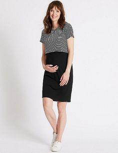 Maternity Striped Dress   Marks & Spencer London