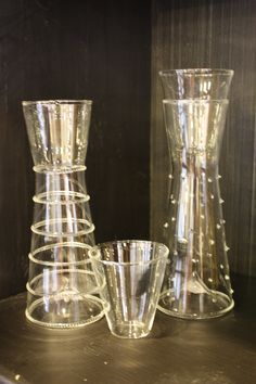 dainty pitchers & glasses...