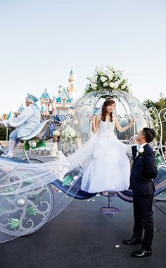 Disneyland Castle Wedding Spotlight: Christina & KevinEver After Blog | Disney Fairy Tale Weddings and Honeymoon