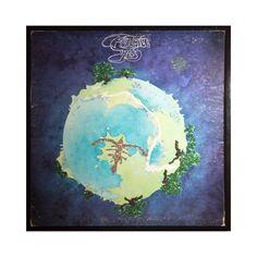 Glittered Yes Record Album Art