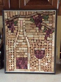 Wine cork art                                                                                                                                                                                 More