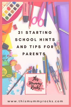 21 starting school hints and tips for parents. A mum of guide to starting school. Back To School Hacks, Back To School Shopping, School Ideas, School Tips, Parenting Advice, Kids And Parenting, Parenting Quotes, Parenting Styles, Foster Parenting