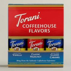 Torani Syrup Trial Size Sampler, 3-Pack
