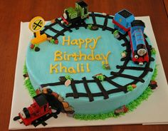 CASH'S CAKES: Thomas the Train cake CHOO CHOOO!