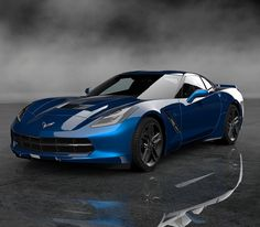 This Stunning Chevrolet Corvette Gran Turismo 6 Concept Is A Winner! Click on the pic to find out why.