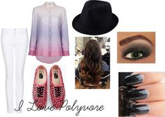 """""""I love polyvore"""" by thefashionfedora on Polyvore"""