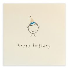 Pencil Shavings Cards - Birthday Hat Boy Creative Birthday Cards, 18th Birthday Cards, Birthday Cards For Boys, Bday Cards, Handmade Birthday Cards, Creative Cards, 21st Birthday, Birthday Greetings, Birthday Card Drawing