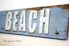 beach sign - you KNOW I love this one!! ^_^