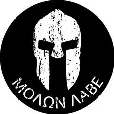 Molon Labe Come and take Them Alt 2 Sticker Die Cut Decal 2A second amendment
