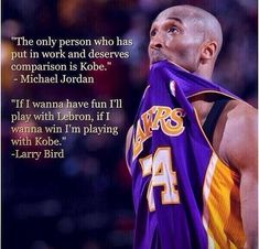 Kobe Bryant, the work ethic and demeanor of a winner. Will always be one of my favorite basketball players. Kobe Quotes, Kobe Bryant Quotes, Kobe Bryant Nba, Basketball Tricks, Basketball Quotes, Love And Basketball, Basketball Stuff, Basketball Funny, Kentucky Basketball