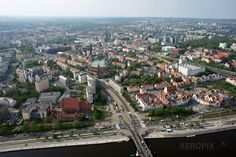 Szczecin bird's-eye view